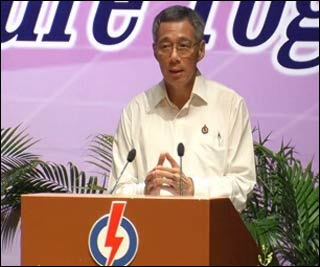 mrbrown.com: CNA: PM Lee hints of Singapore election date