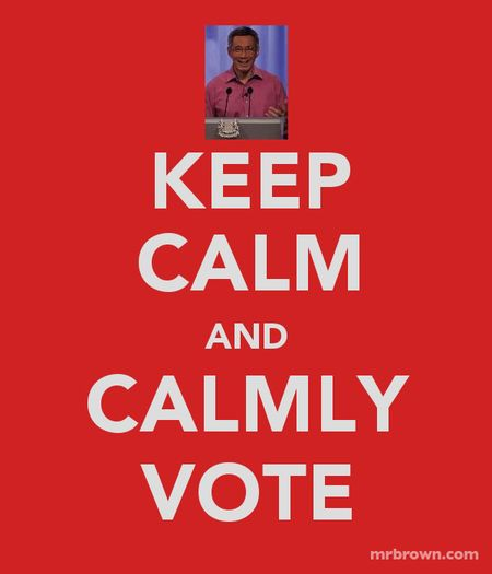 Keepcalmandvote