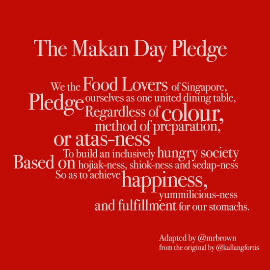 Makanday_pledge