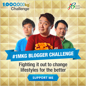 CLICK to support MRBROWN at the 1MKGC Blogger Challenge