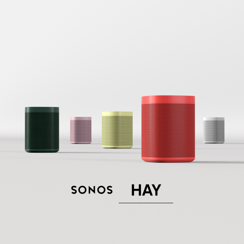 Hay Sonos Groupshot with Logo