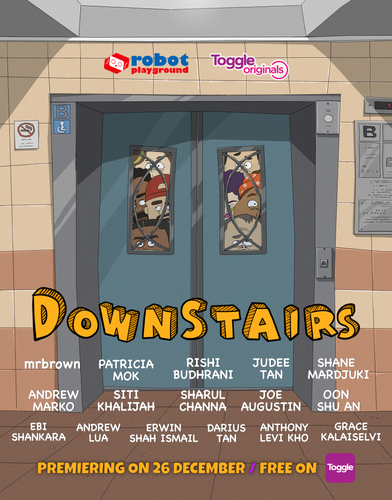 DOWNSTAIRS Poster v2