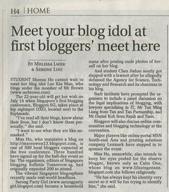 Bloggers.SG Conference in the News